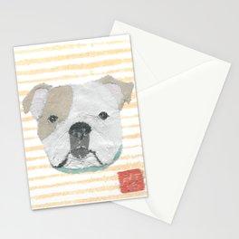 English Bulldog, Modern Stationery Cards