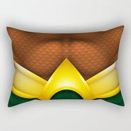 Aquaman: Superhero Art Rectangular Pillow