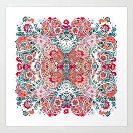 Mandala Alive II Art Print