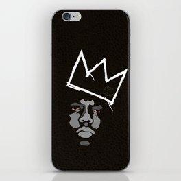 Biggie Basquiat iPhone Skin