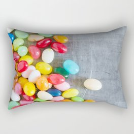 Jelly Beans 4 Rectangular Pillow