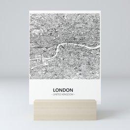 LONDON MAP Mini Art Print