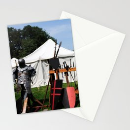 Medival Camp Stationery Cards