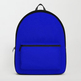 Psychedelic black and blue stripes V. Backpack