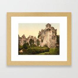 Vintage Photo-Print of Donegal Castle (1900) Framed Art Print