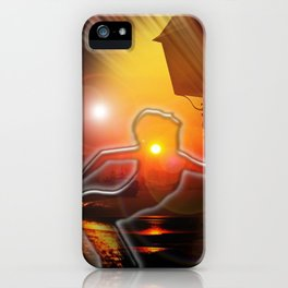 Moments - moon dance iPhone Case