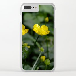 Buttercups Number 1 Clear iPhone Case