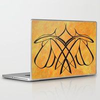 lesbian Laptop & iPad Skins featuring Together Lesbian Love by taiche