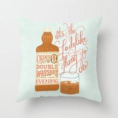 Some Good Advice Throw Pillow