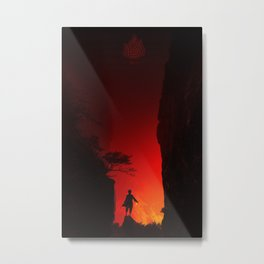 Zuko in the Valley Metal Print