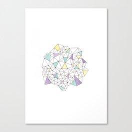 Triangles N2 Canvas Print