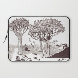 Quiver Tree Forest - Namibia Laptop Sleeve