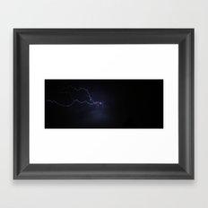 God's leash Framed Art Print