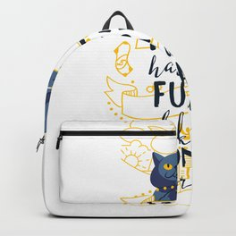 Hell Hath No Fury Like A Woman Scorned Backpack