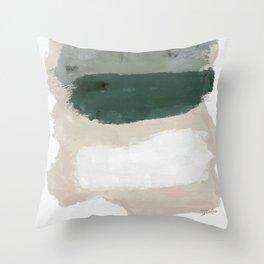 Paint Stripes Throw Pillow