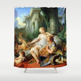 Rinaldo and Armida - Francois Boucher Shower Curtain