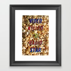 Video killed the Radio Star – A Hell Songbook Edition Framed Art Print