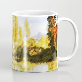 Color trees in autumn Coffee Mug