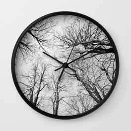 Routes To The Sky Wall Clock