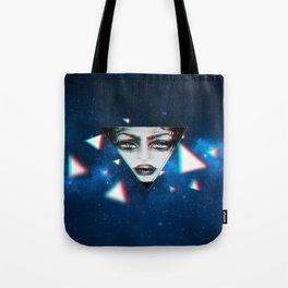 dimensional snap Tote Bag