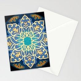 Meditative Dot Design Stationery Cards