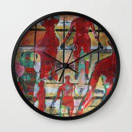 RED II Wall Clock