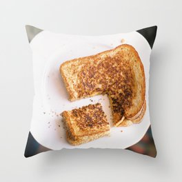 grilled love Throw Pillow