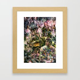 Lady of the Copper Mountain Framed Art Print