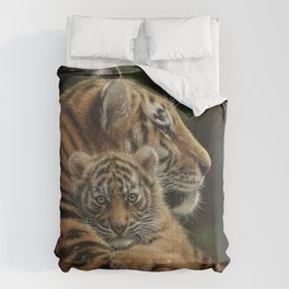 Tiger Mother and Cub - Cherished Comforters
