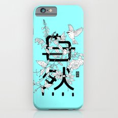 Shizen wrapped in nature_Blue Slim Case iPhone 6