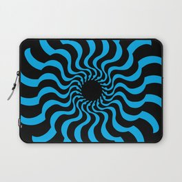 EYE 2(BLACK/BLUE) Laptop Sleeve