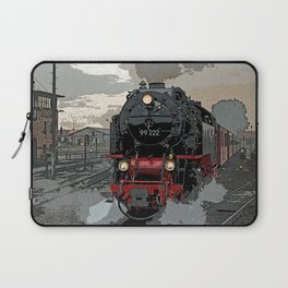 Steam locomotive   Dampflokomotive Laptop Sleeve
