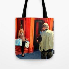 Gotta Thing For Orange Tote Bag