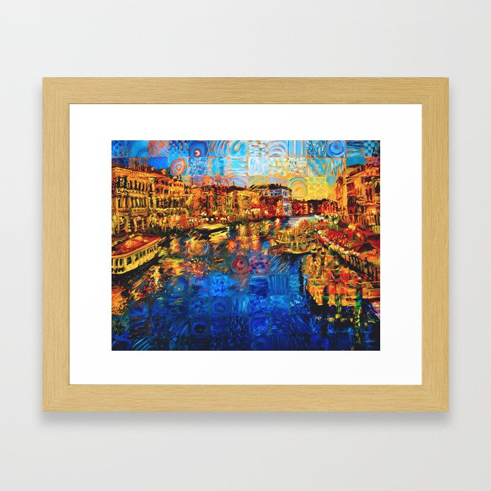 City of Love Framed Art Print