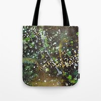 camo Tote Bags featuring Camo by Art Book Of  Amanda
