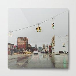 Gratiot Ave - Detroit, MI Metal Print