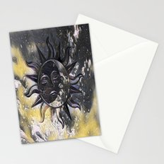 Day Dream Sun Moon Stationery Cards