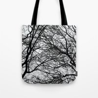 anxiety Tote Bags featuring Anxiety by Mind-off