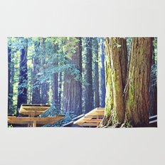 Picnic in the Woods Rug