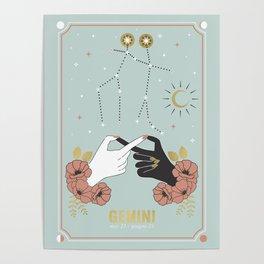 Gemini Zodiac Series Poster