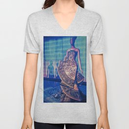 China Through The Looking Glass 1 Unisex V-Neck