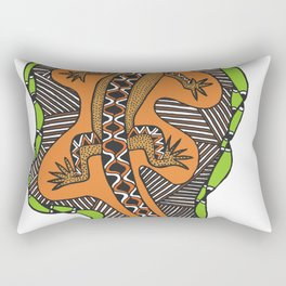 Mangrove Goanna Rectangular Pillow