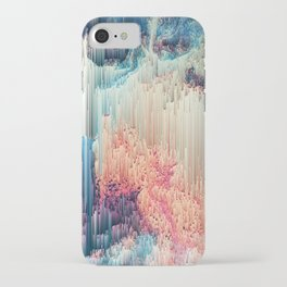 Fairyland - Abstract Glitchy Pixel Art iPhone Case