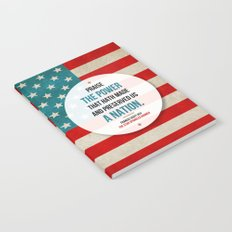 Preserved us a Nation Notebook