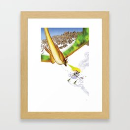Dragon Attack Framed Art Print
