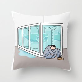 Return to the Impossibility of Death Throw Pillow