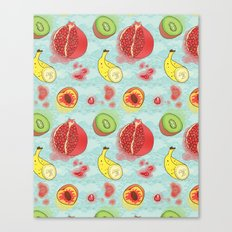 Fruit Cross-sections Canvas Print