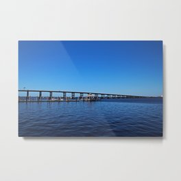 The 41 Bridge Over the Caloosahatchee II Metal Print