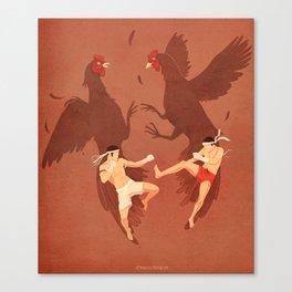 Thai Fighter Canvas Print