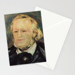 Richard Wagner (1813 – 1883) by Auguste Renoir (1841 - 1919) in 1882 Stationery Cards